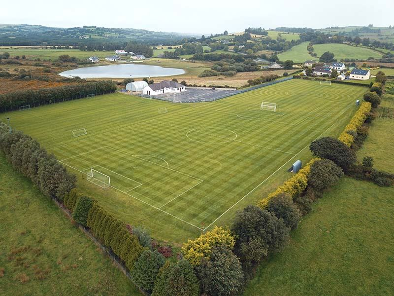 This was aerial footage that was taken of Mastergeeha fc in September 2018. We flew a drone over the grounds to get this aerial photography